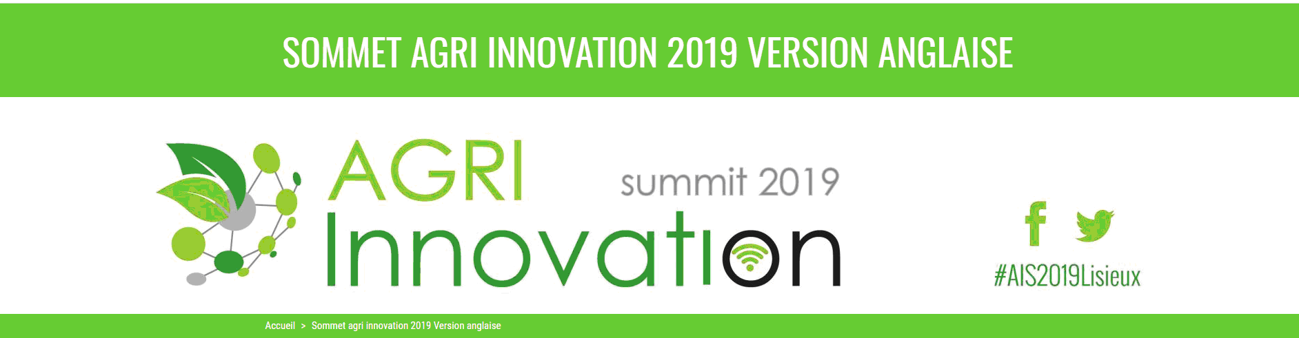 Agri Innovation Summit19