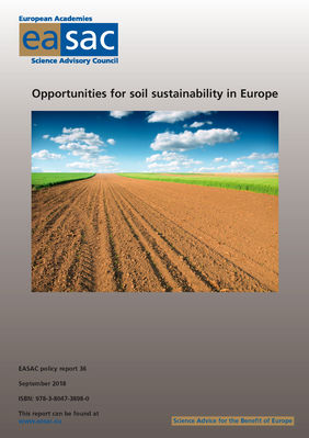 EASAC Opportunities soil sustainability in Europe