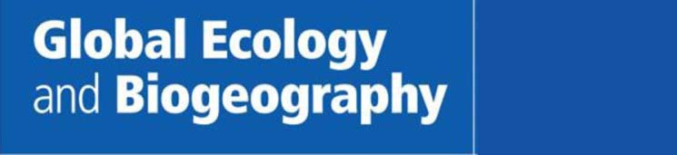 Global Ecology Biogeography