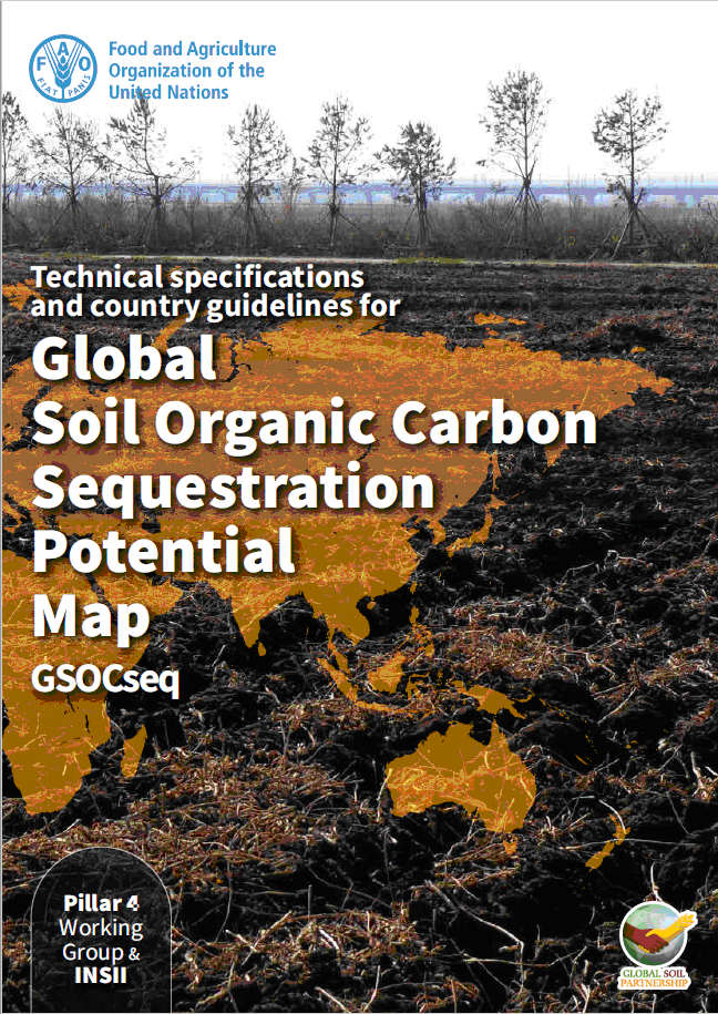 Global Soil Organic Carbon Sequestration Potential Map