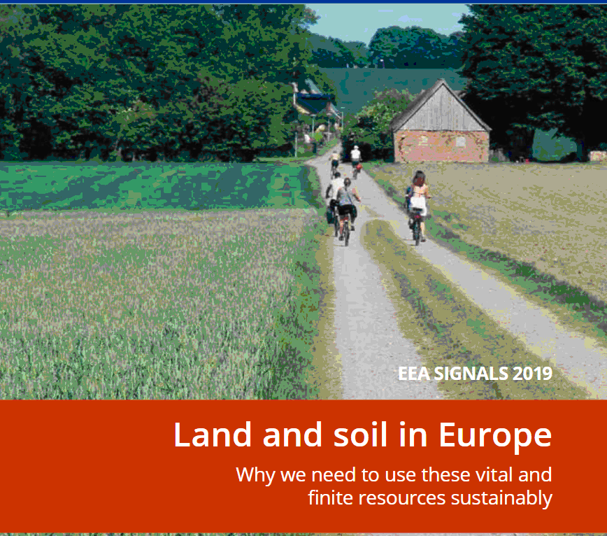 Land on Soil in Europe
