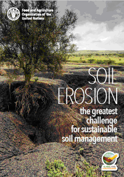Soil erosion The greatest challenge