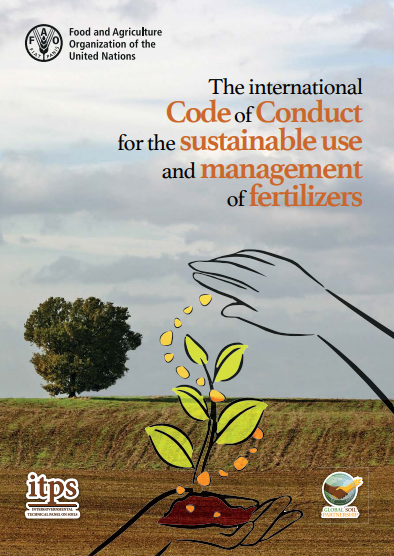 The international Code of Conduct sustainable use management fertilizers